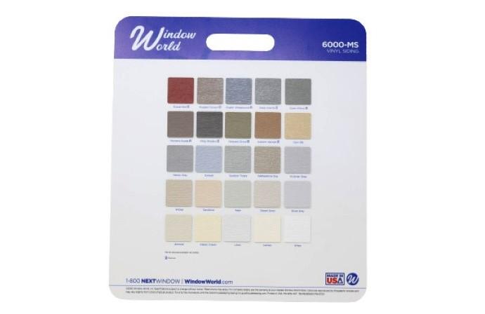 Siding color selector