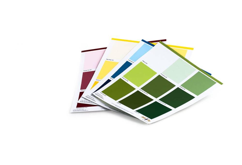 Deopsit Color Card