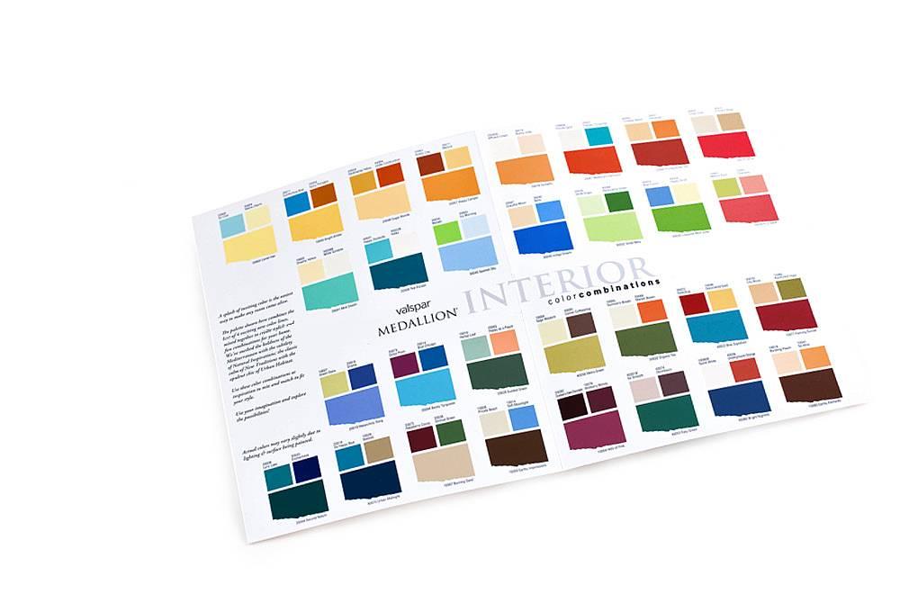 Deposit Color Card